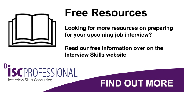 ISC Professional - Interview guide - Competency-based interviews