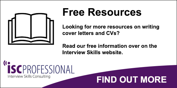 Interview Skills Call to Action Button CV